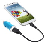 Incarcator auto GO COOL 5V-1A USB Blue