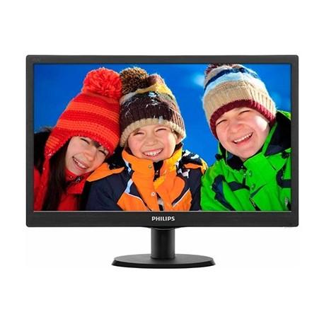 Monitor Philips 193V5LSB2 Black