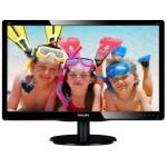 Monitor Philips 200V4QSBR Black