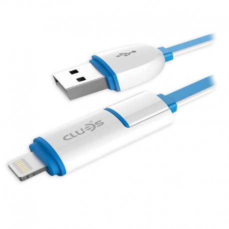 Cablu de date USB GO COOL XS-02 pentru GSM White-Blue