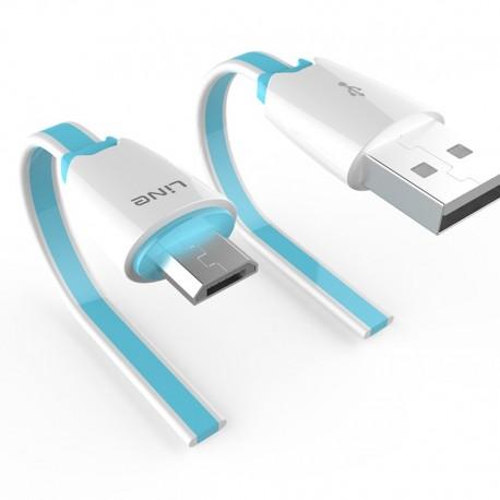Cablu de date USB GO COOL YX-03S pentru GSM Blue