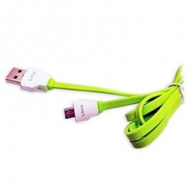 Cablu de date USB GO COOL LINE XS-04s pentru GSM Green