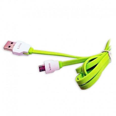 Cablu de date USB GO COOL XS-04s pentru GSM Green