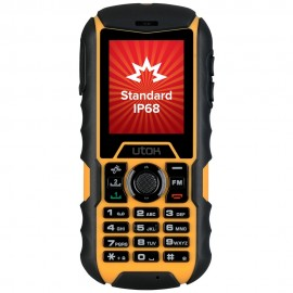Telefon mobil UTOK Dorel 2 Black-Yellow