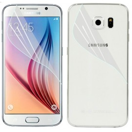 Pelicula de protectie GO COOL Samsung Galaxy S6 Front + Back