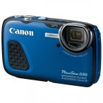 Aparat foto digital Canon PS D30, 12.1MP, Blue