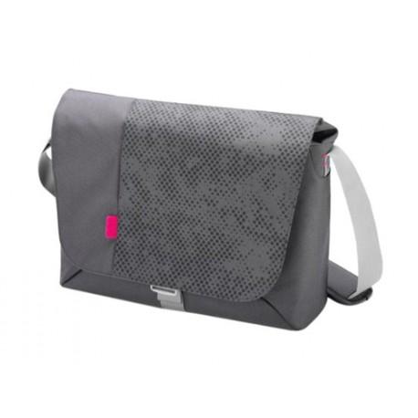 "Geanta 15""-16.4"" Dicota D30257 Bounce Messenger Grey/Pink"