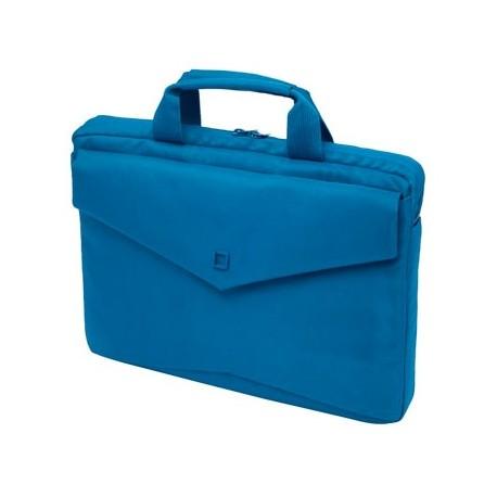 """Geanta 15"""" Dicota D30604 Code Slim Case Blue"""