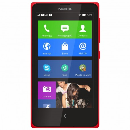 Smartphone Nokia X DS Red