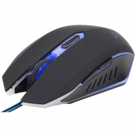 Mouse Gembird MUSG-001-B Black/Blue