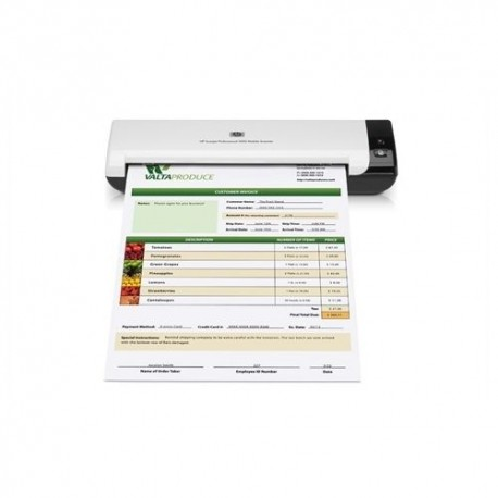 Scanner portabil HP Scanjet Professional 1000