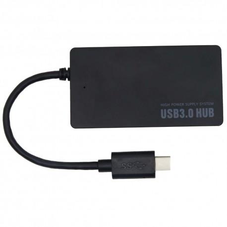 Cablu de date USB-C HUB GO COOL Black