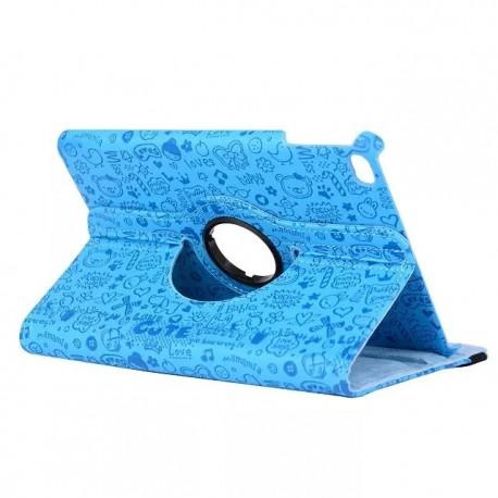Husa case de protectie GO COOL pentru iPad 2.3.4 Happy Blue