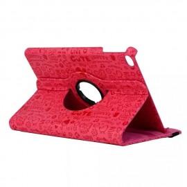 Husa case de protectie GO COOL pentru iPad 2.3.4 Happy Red