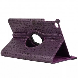 Husa case de protectie GO COOL pentru iPad 2.3.4 Happy Violet