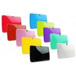 """Husa silicon GO COOL 10.1"""" pentru Samsung P5200, Yellow"""