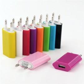 Adaptor retea GO COOL Universal 5.1V - 1A USB Pink
