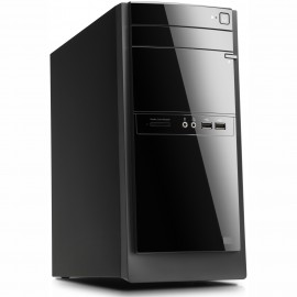 Sistem desktop PC 2.7 - 3.3 GHz / 4 GB / 500 GB HDD + 256 GB SSD, DVD-RW, Free DOS