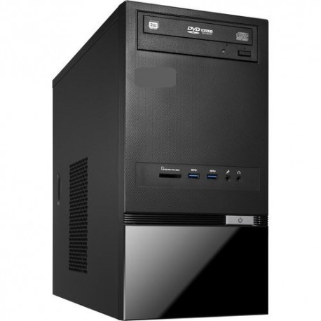 Sistem desktop PC 3.4 - 4.0 GHz / 32 GB / 3.0 TB HDD + 256 GB SSD, DVD-RW, Free DOS