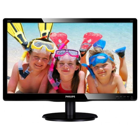 Monitor Philips 200V4LAB2 Glossy Black
