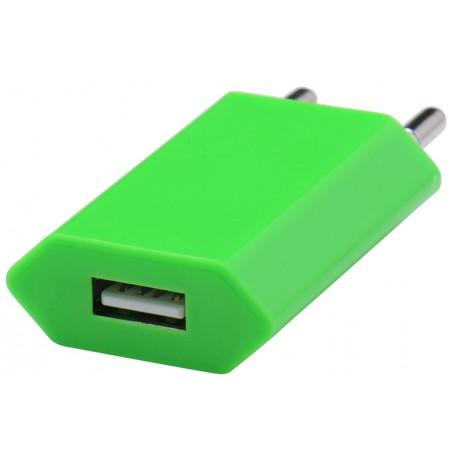 Adapter retea GO COOL Universal 750mah USB Green