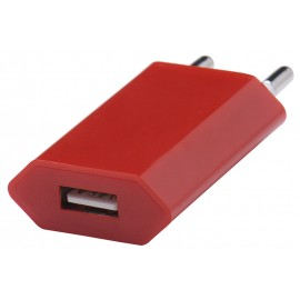 Adapter retea GO COOL Universal 750mah USB Cranberry