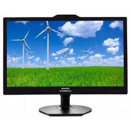 Monitor Philips 221S6QYKMB Black