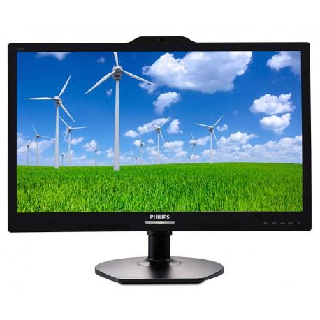 Monitor Philips 221S6QYKMB Black