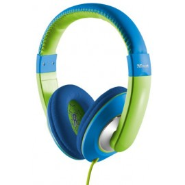 Casti Trust Sonin kids Blue/Green