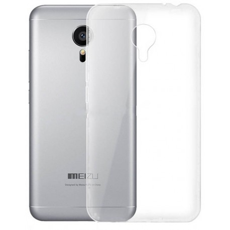 Husa de protectie GO COOL pentru Meizu M2 Note Transparent