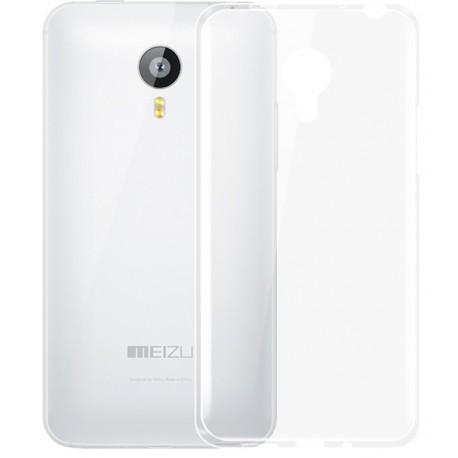 Husa de protectie GO COOL pentru Meizu M3 Transparent