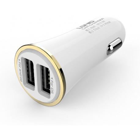 Incarcator auto LDNIO DL-C28 USB White