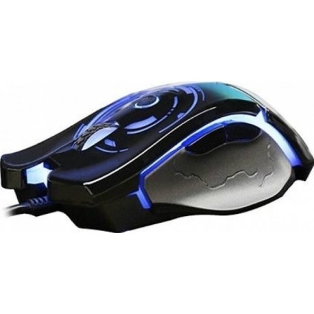 Mouse AULA Catastrophe Black-Blue