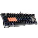 Tastatura A4tech Bloody B700 Full Light Strike Black