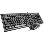 Set tastatura + mouse A4Tech KM-72620D Black