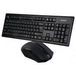 Set tastatura + mouse A4Tech Wireless 3000N Black