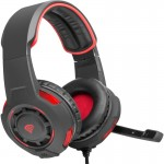 Casti Natec Genesis HX60 Black/Red