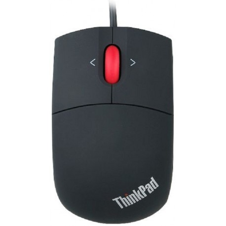 Mouse Lenovo 3-B Trav Wheel Black