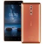 Smartphone Nokia 8, Cooper