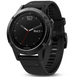 Smartwatch GARMIN Fenix 5, Sapphire Black