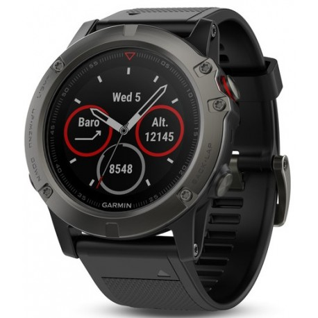 Smart Watch GARMIN Fenix 5X, Sapphire Grey