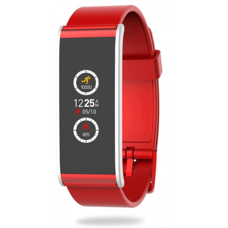 Smart Watch MyKronoz ZeFit4, Red