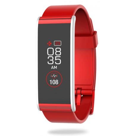 Smart Watch MyKronoz ZeFit4HR, Red