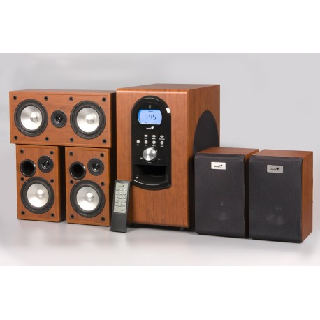 Genius SW-HF5.1 6000,Maple Wooden