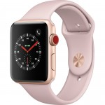 Smartwatch Apple Watch 3 Gold with Sport Band Pink