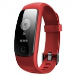 Smart band iDO ID107 Plus HR, Red