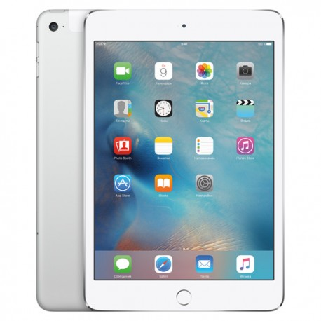 Apple iPad mini 4,128Gb,Wi-Fi,Silver