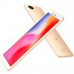 Smartphone Xiaomi RedMi 6A Gold
