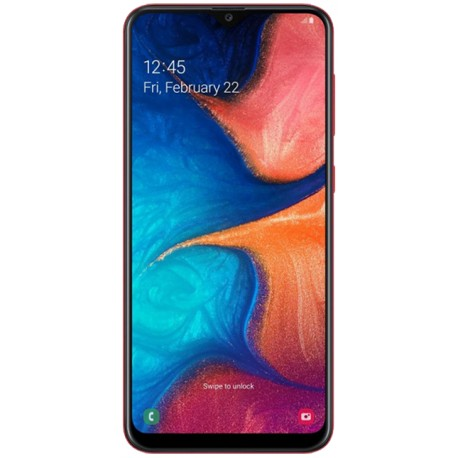 Smartphone Samsung A205 Galaxy A20 Red